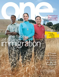 ONE - Summer 2008 Issue
