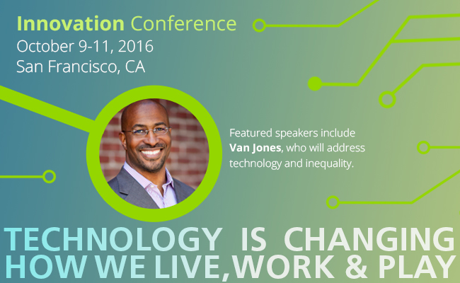 Van Jones at Innovation Conference