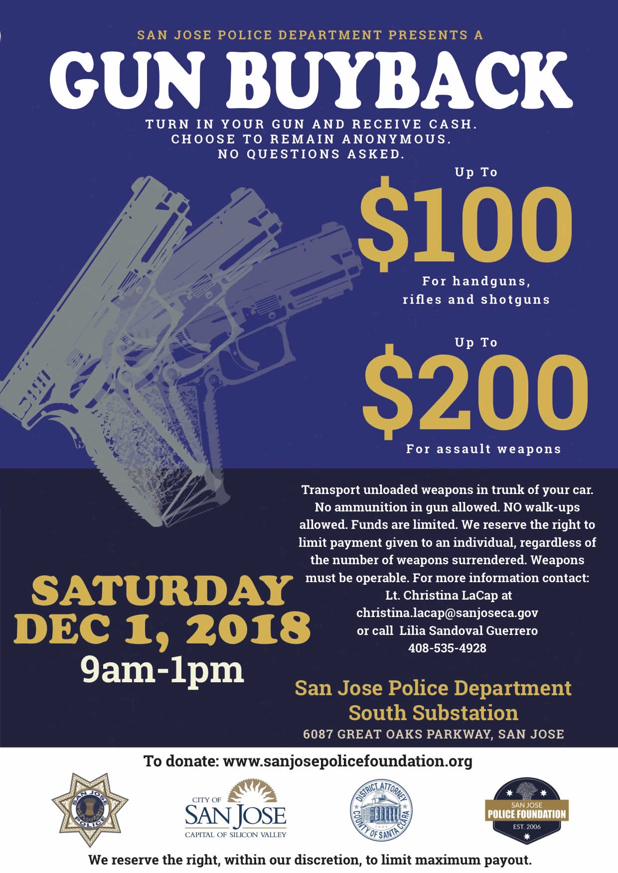 Gun Buy Back Flyer