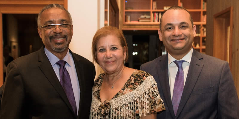 From left to right: Dr. Nelson I. Colon, president of Puerto Rico Community Foundation; Dr. Julia María Nazario Fuentes, mayor of Loíza; and former state senator Ramon-Luis Nieves, Esq.
