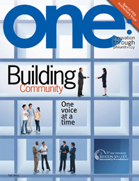 one: innovation through philanthropy - Fall 2011 Issue