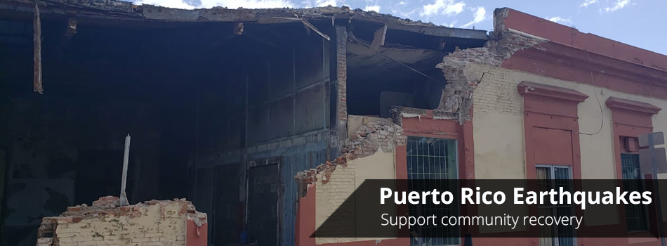 Puerto Rico Earthquake Relief Fund