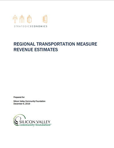 Regional Transportation Measure Revenue Estimates