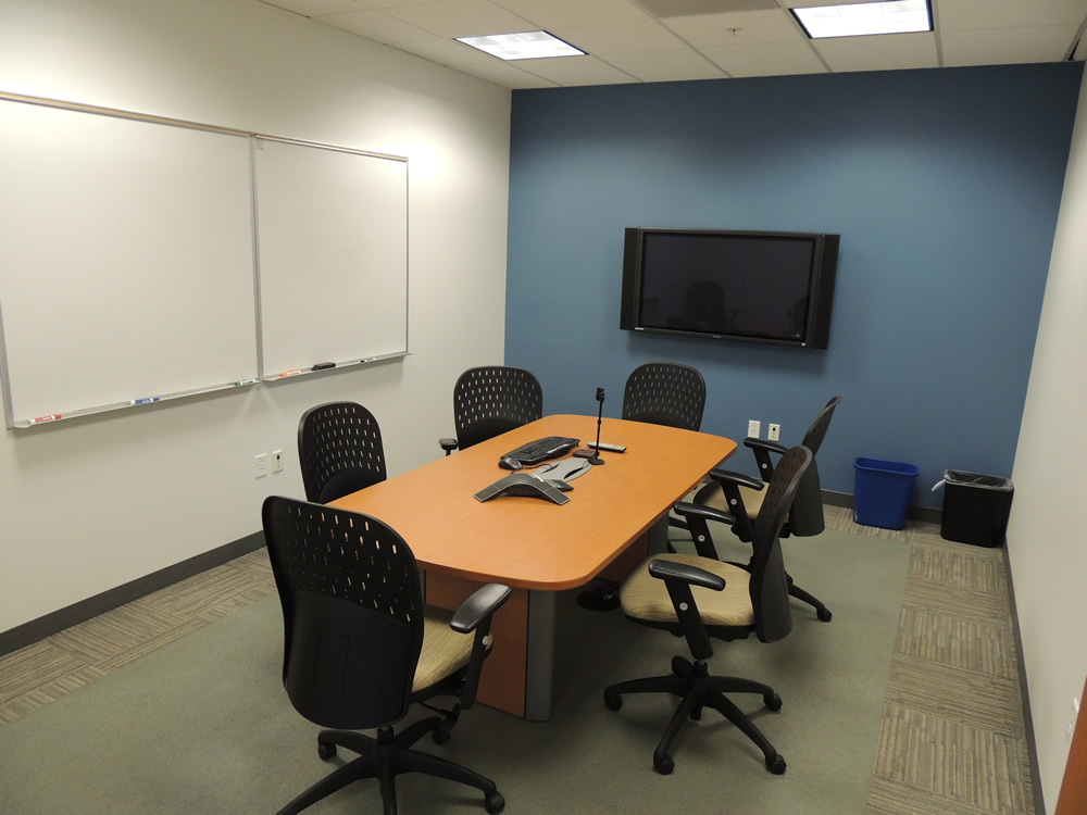 Community conference space silicon valley community for Office design video conferencing