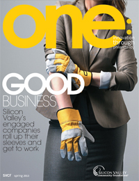 one: innovation through philanthropy - Spring 2013 Issue