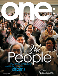 one: innovation through philanthropy - Spring 2012 Issue