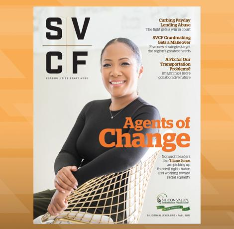 SVCF magazine features efforts to improve equality, plus more stories