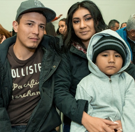 Find nonprofits helping families at the border and locally